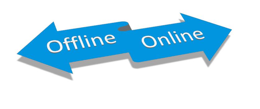 Переход с оффлайн в онлайн
